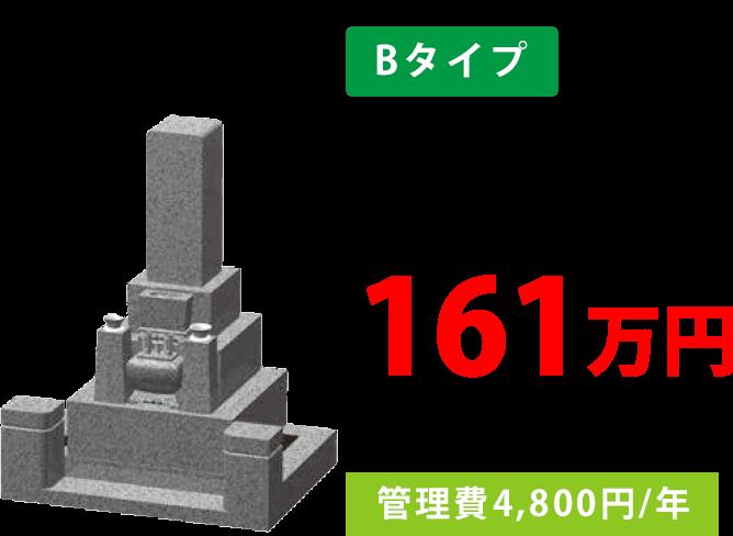 Bタイプ 161万円